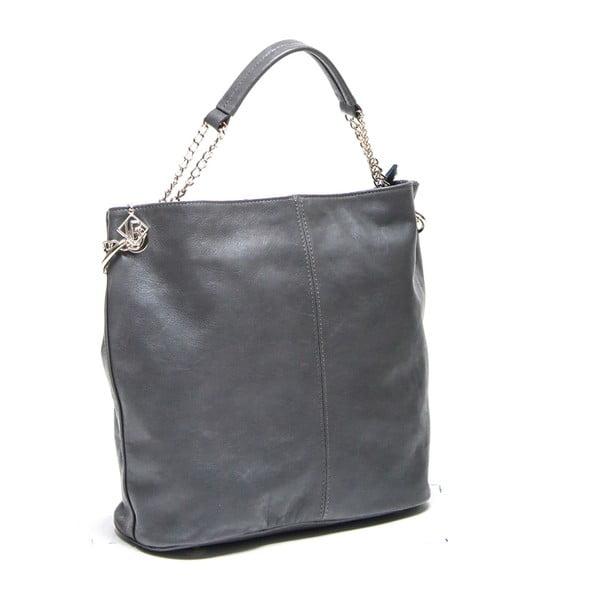 Kožená kabelka Isabella Rhea 2108 Grigio