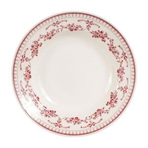 Farfurie adâncă Comptoir de Famille Faustine, 23 cm, roșu - alb