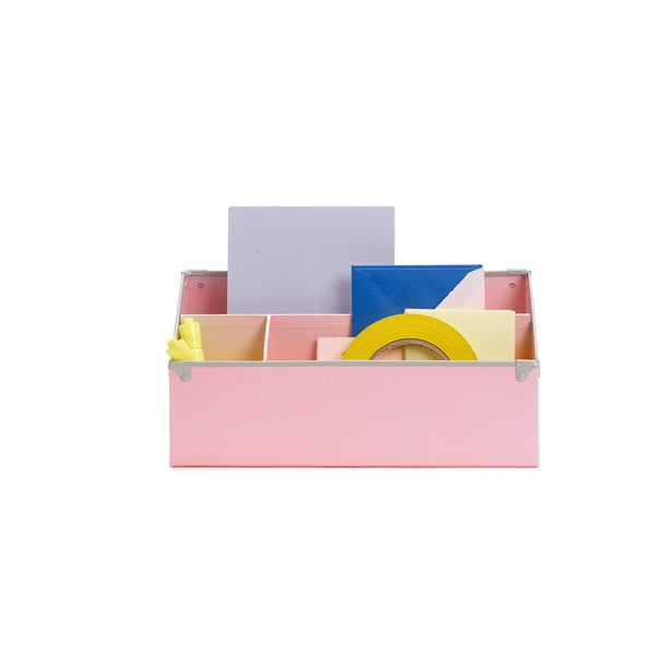 Organizér na stůl Design Ideas Frisco Pink