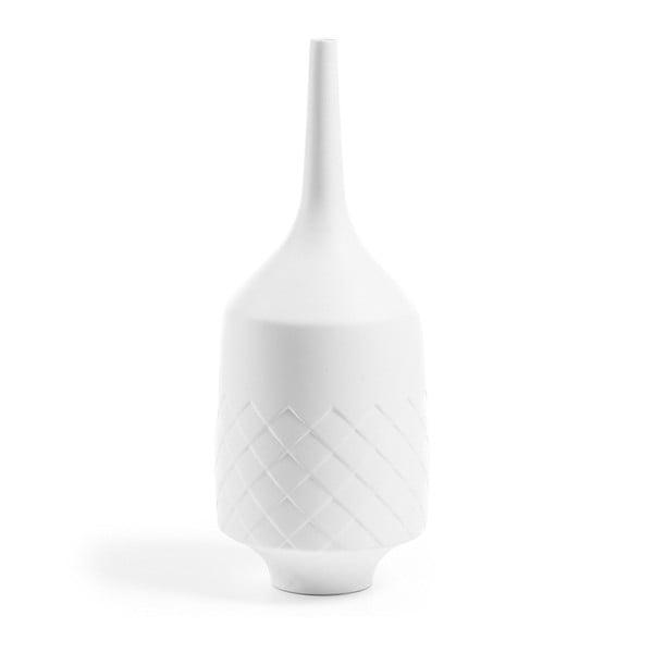 Bílá váza La Forma Jacco