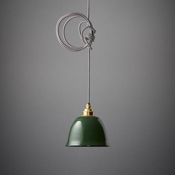 Závěsné světlo Miniature Bell Green