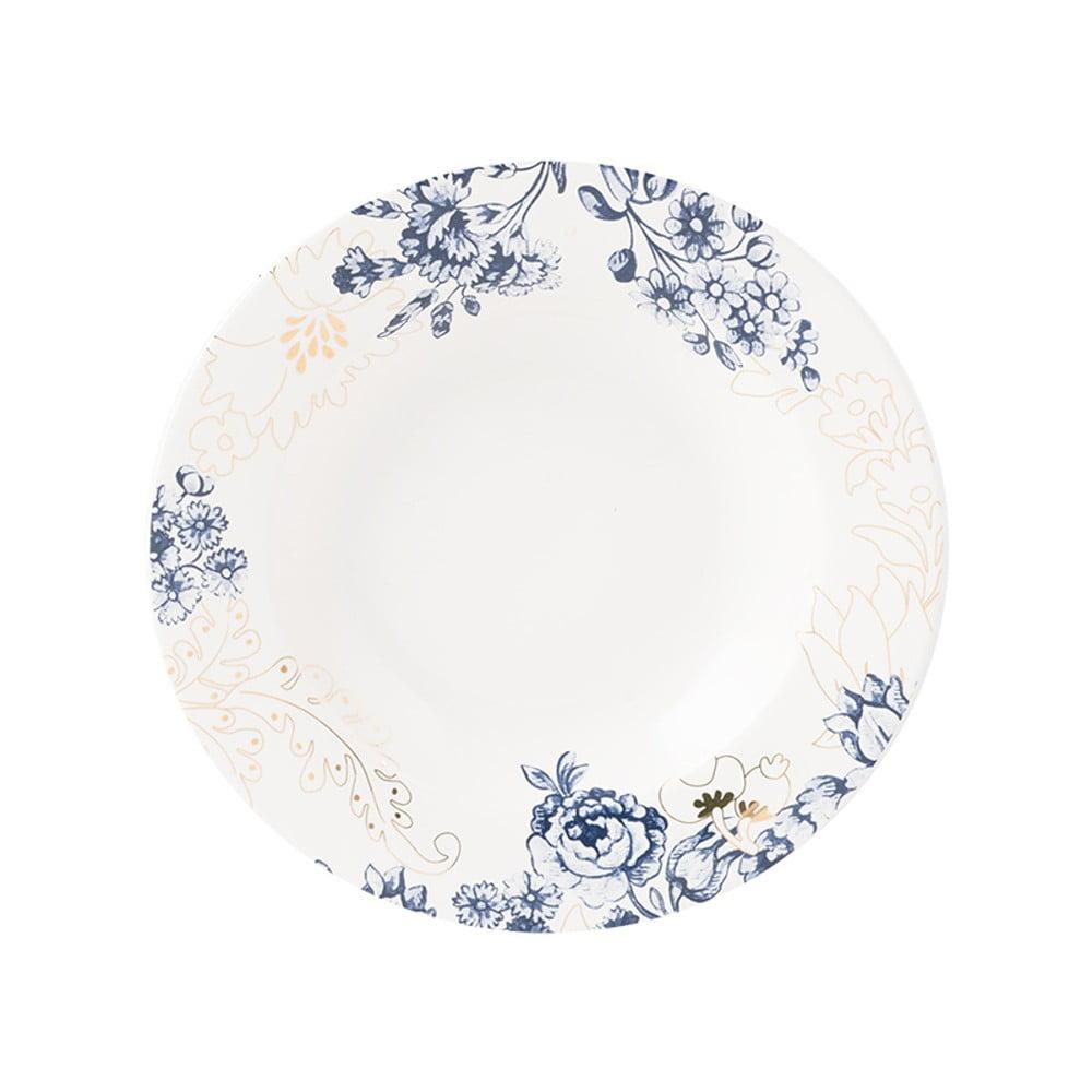Mísa na polévku s modro-zlatými vzory Creative Tops, Ø 21 cm