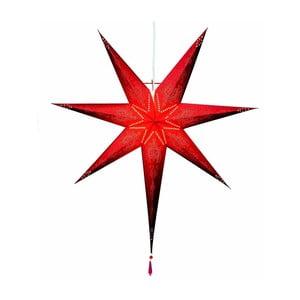 Závěsná svítící hvězda Strala, 85 cm