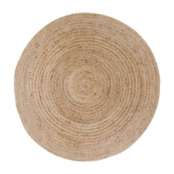 Jasnobrązowy okrągły dywan House Nordic Bombay, ø 90 cm