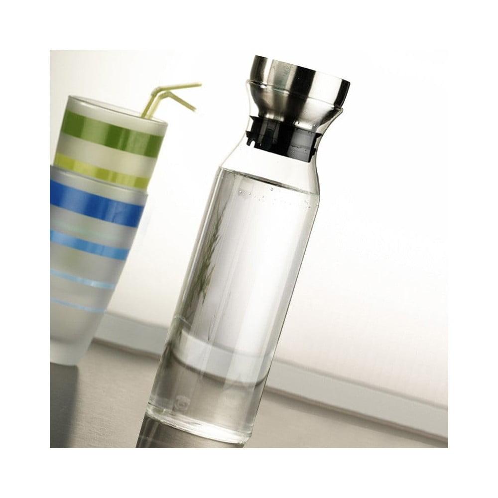 Skleněná lahev s filtrem Kaylee, 26 x 7 x 7 cm