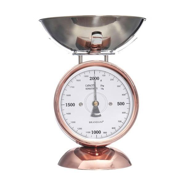 Kuchyňská váha z nerezové oceli Brandani Rose Gold