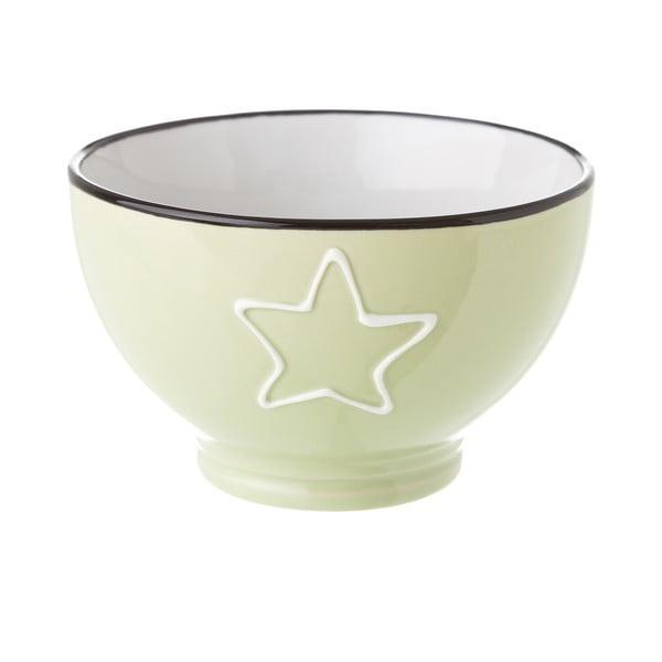 Star zöld kerámia tálka, 580 ml - Unimasa
