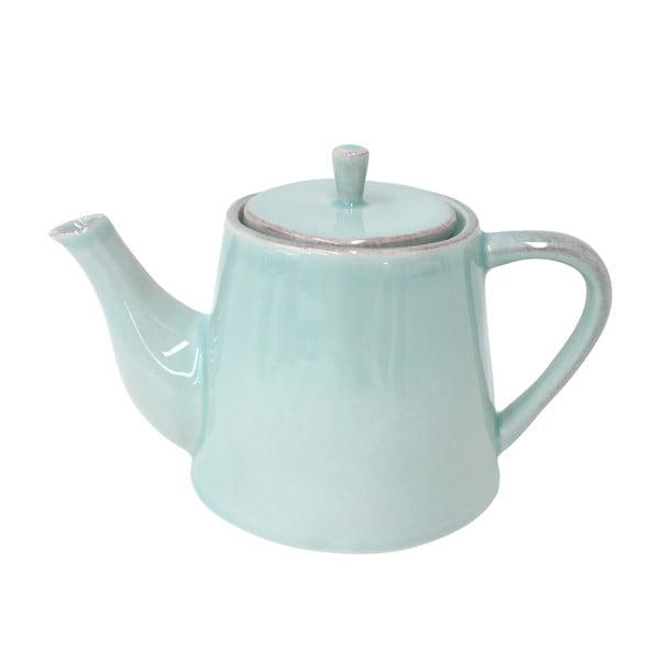 Keramická konvice na čaj Lisa 1000 ml, tyrkysová