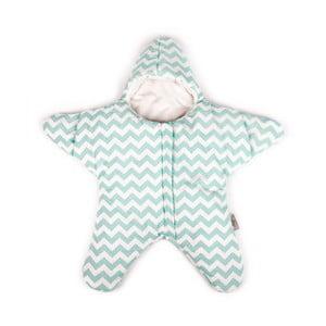Dětský spací vak Baby Bites Star Mint
