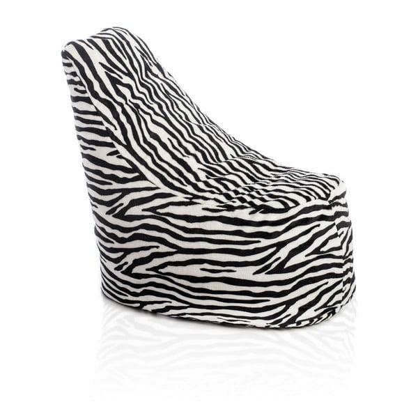 Sedací vak Haci Zebra