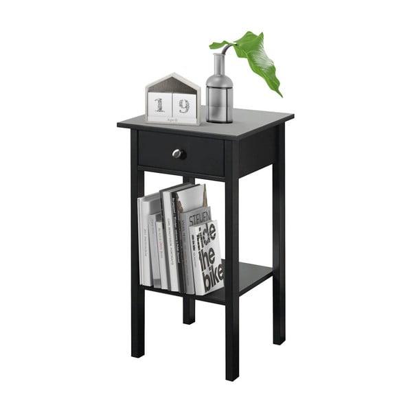 Černý noční stolek Støraa Tango
