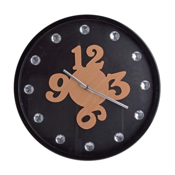 Nástěnné hodiny Black Wall