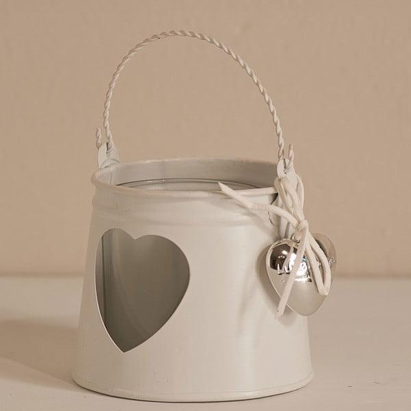 Svícen Candle Heart, 15 cm