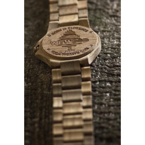 Dřevěné hodinky Date Teak