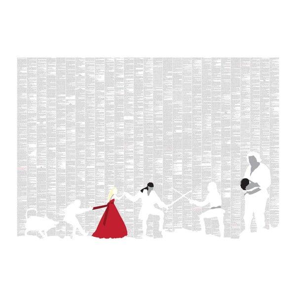 Knižní plakát Princezna nevěsta, 100x70 cm
