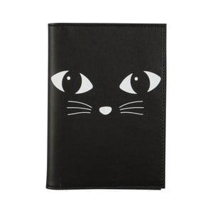 Husă pentru pașaport Sass & Belle Black Cat