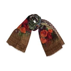Vlněný šátek Shirin Sehan Amber