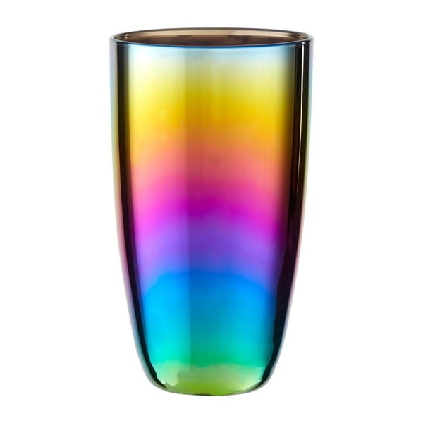 Set 4 pahare cu efect de curcubeu Premier Housewares Rainbow, 507 ml