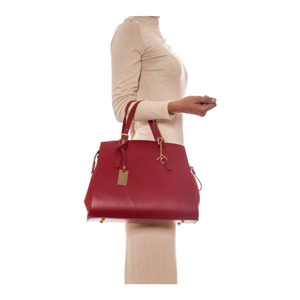 Kožená kabelka Renata Corsi 3003 Rosso