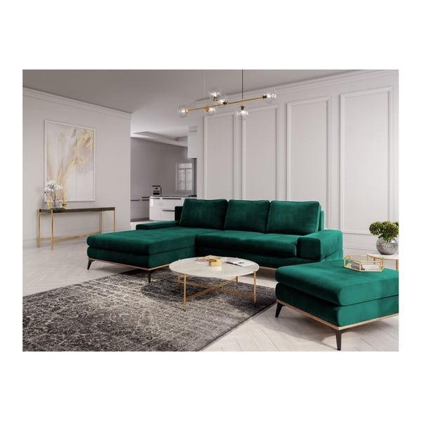Puf Windsor & Co Sofas Astre, verde