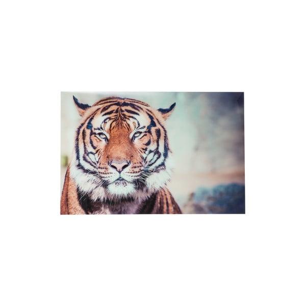 Skleněný obraz Tiger, 120x80 cm