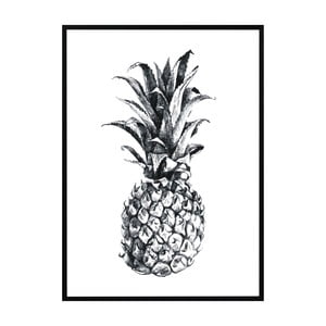 Plakát Nord & Co Pineapple, 21 x 29 cm