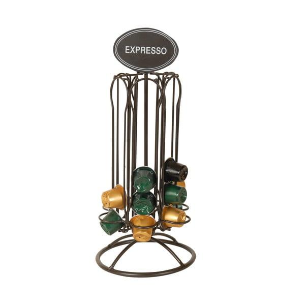 Suport din metal pentru capsule de cafea Antic Line Espresso, înălțime 33 cm
