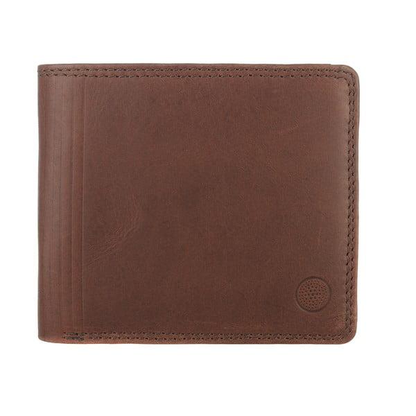 Kožená peněženka Benedict Hazy Brown