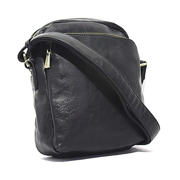 Taška přes rameno Bobby Black - Black, 23x27 cm