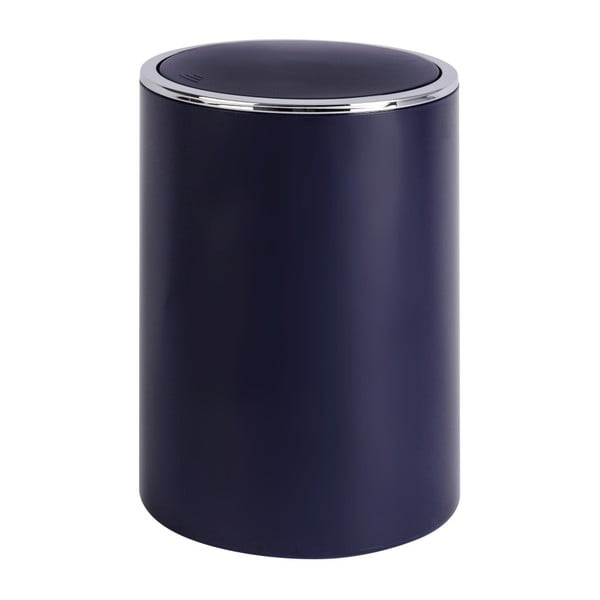 Tmavomodrý odpadkový kôš Wenko Inca Dark Blue