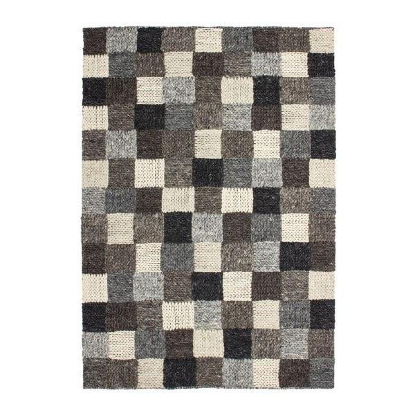 Vlněný koberec Sirius 508 Brown, 80x150 cm