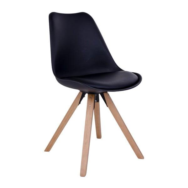 Sada 2 černých židlí House Nordic Bergen