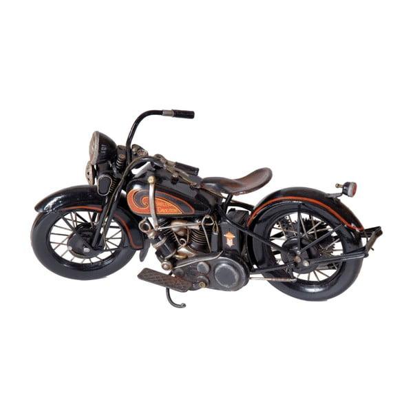 Black Moto dekorációs motor - Antic Line