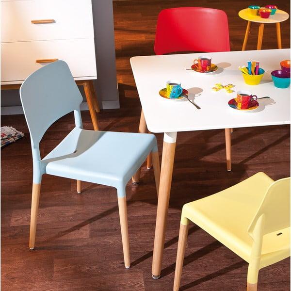 Sada 4 červených jídelních židlí 13Casa Molde
