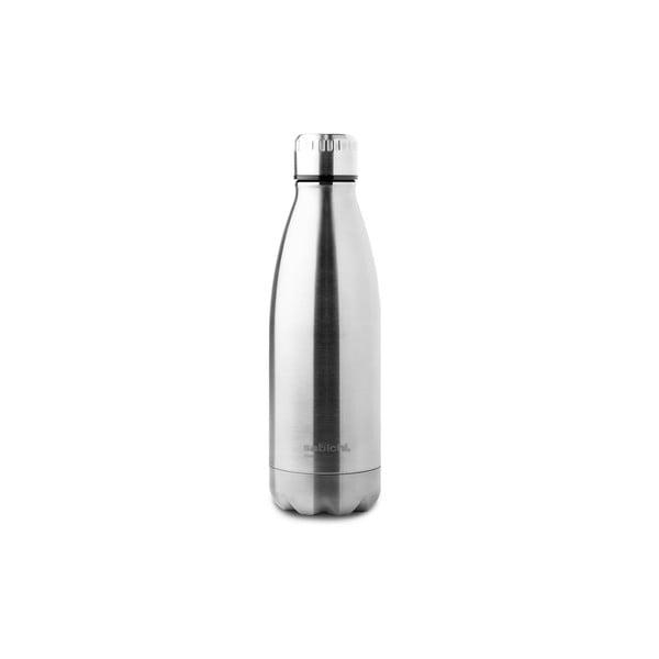 Antikoro termofľaša v striebornej farbe Sabichi Stainless Steel Bottle, 450 ml
