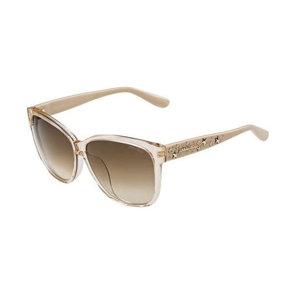 Sluneční brýle Jimmy Choo Chanty Nude/Brown