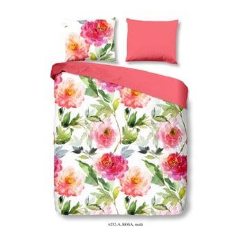 Lenjerie de pat din bumbac Good Morning Rosa, 200 x 200 cm imagine