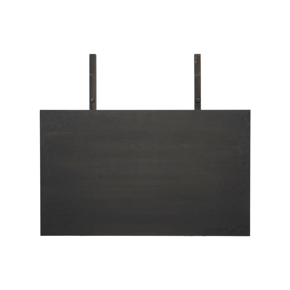 Černá deska k prodloužení jídelního stolu Canett Aspen