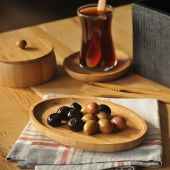 Bol servire din bambus Bambum Billy Snack de la Bambum