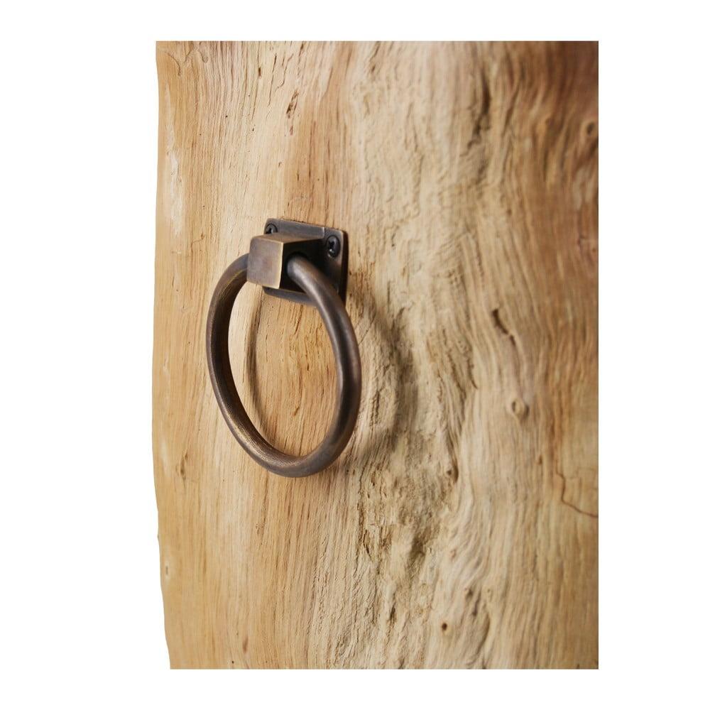Stolička z masivního teakového dřeva Moycor Root
