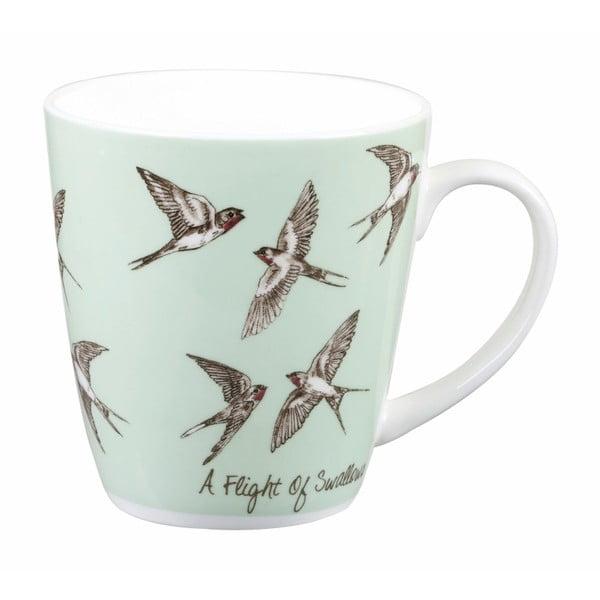 Hrnek Churchill Crowd Cherry Swallows, 360 ml