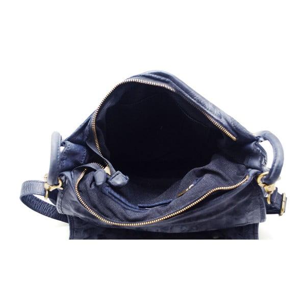 Kožená kabelka Tritila Blu