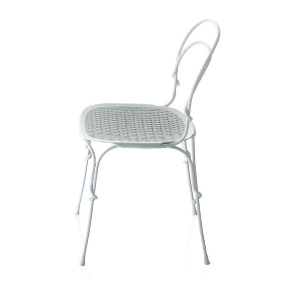 Bílá jídelní židle Magis Vigna