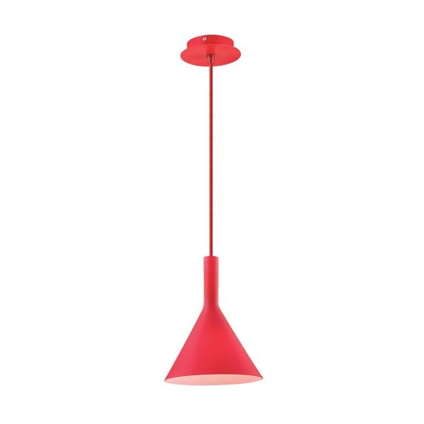 Nástěnné světlo Coctail Rosso, 20 cm