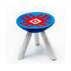 Ručně malovaná stolička Alma, 28 cm