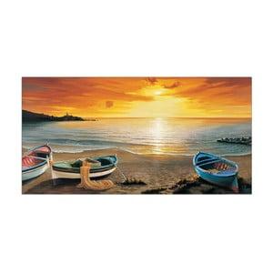 Obraz Galasso - Al calar del sole, 100x50 cm