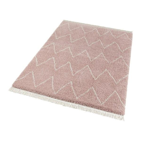 Růžový koberec Mint Rugs Rotonno, 80x150cm