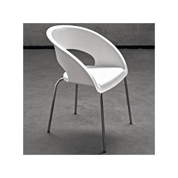 Bílá kancelářská židle Zago Que Four
