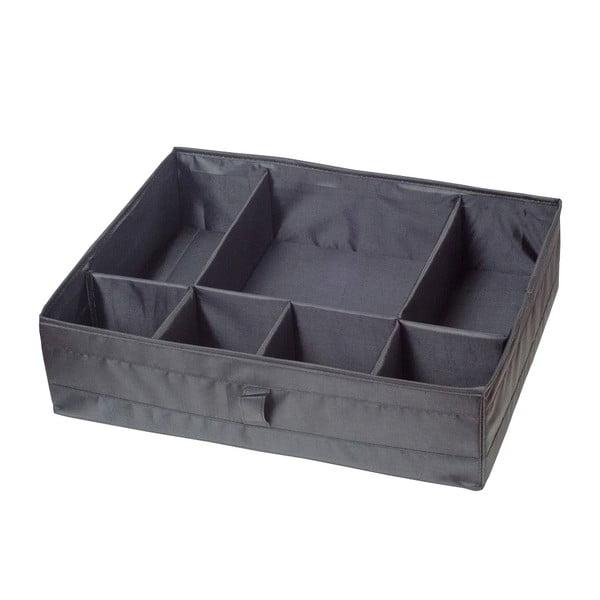 Šedý organizér do šuplíku Jocca Compartments, 44x34cm