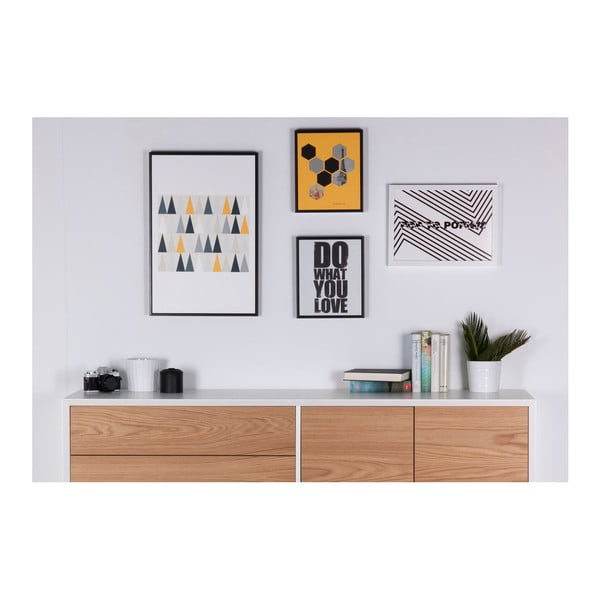 Obraz sømcasa Hexag, 25 x 30 cm
